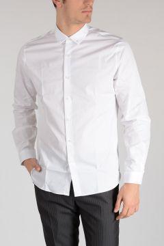 Popeline Shirt With Stud