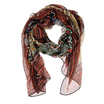 Cashmere and Silk Scarf 264x130 cm