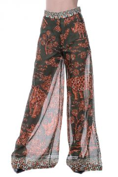 Cotton Printed Pants