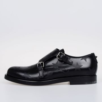 GARAVANI Leather DOUBLE MONK Shoes