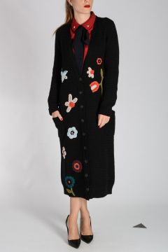 RED VALENTINO Virgin Wool Knitted Coat