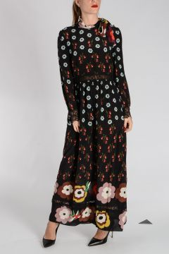 RED VALENTINO Silk Long Dress
