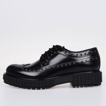 GARAVANI Leather Studded Derby