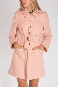 RED VALENTINO Trench in Lana e Nylon