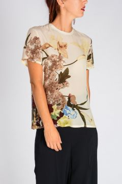 Silk Short sleeves top
