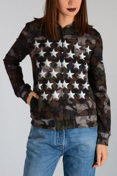 Felpa Camouflage Full zip