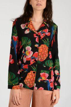 Silk Flowered Jacket