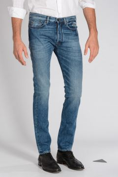 17 cm Stonewashed Denim SLIM FIT Jeans