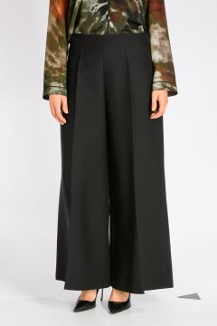 Virgin Wool And Silk Pants
