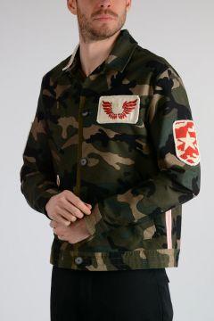 Beaded Military Jacket