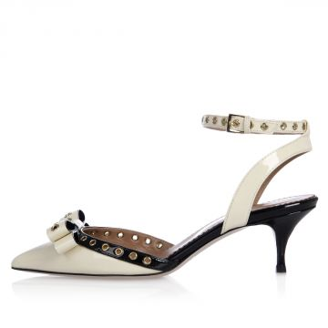 Ankle Strap Patent Leather Sandal