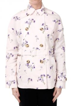Floral Printed Trench