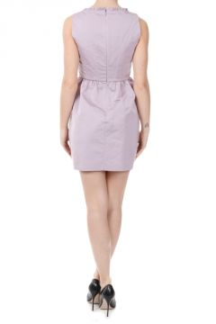 Sleeveless Crepe Couture Dress