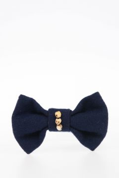 Bow Tie with Skull Detail