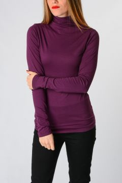 Long Sleeves Cotton Blend T-shirt