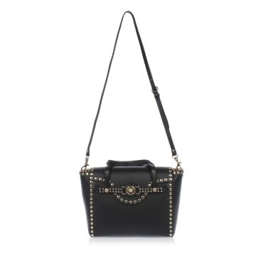 Leather Studded Bag