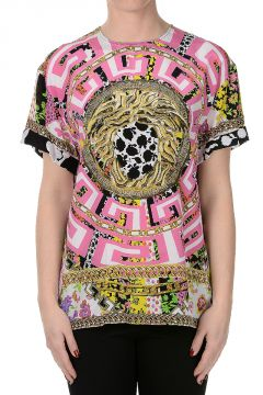 Silk Printed T-Shirt