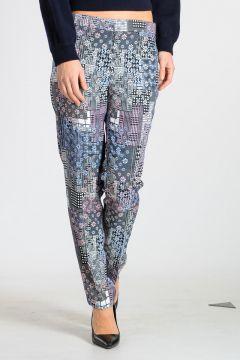 Printed Viscose Pants