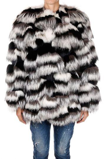 Arctic Fox Fur Jacket
