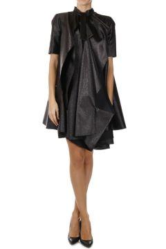 Silk Blend Lamè Dress