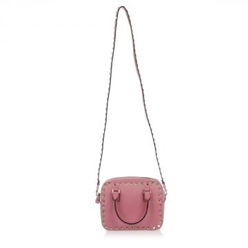 Leather Studded Small Bag