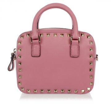 Leather Studded Small Bag