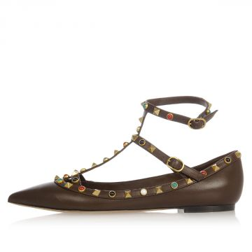Applications Leather Pointy Sandal
