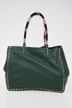 NATIVE COUTURE Leather Reversible Shopper