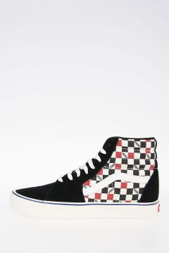 Checked SK8-HI LITE  High Sneakers