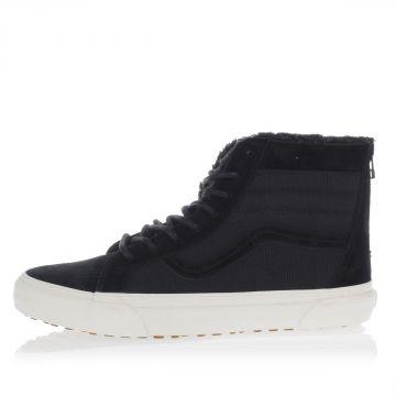 Sneakers Alte con zip e Lacci