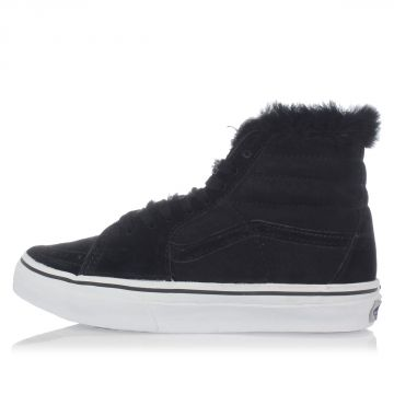 SACAI SK8-HI Sneakers Padded with Shearling