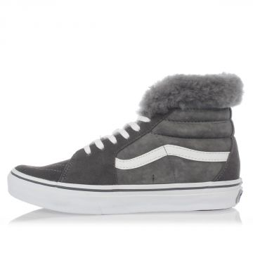 Sneakers SACAI SK8-HI Imbottite in Shearling