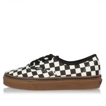 Fabric Authentic Checked Sneakers
