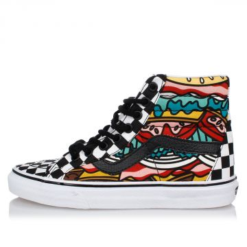 Sneakers Alte SK8-Hi REISSUE BURGER in Tessuto