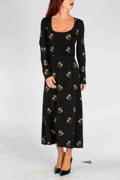 Silk Blend ROSIE Blouson Dress