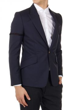 Virgin Wool Slim Fit Blazer