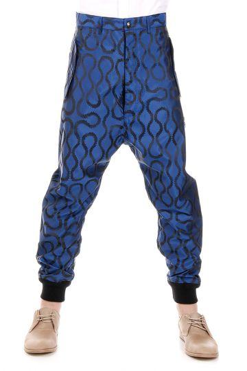 Pantaloni Low Crotch con Stampa