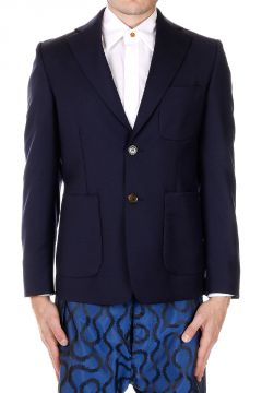 Wool Slim Fit Blazer