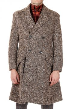 Wool and Silk Mixed Coat