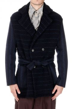 Wool Jacket with Belt