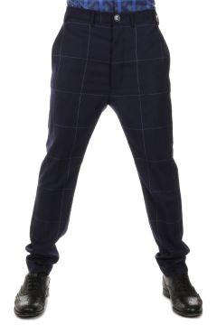 Pantalone in Lana a Quadri