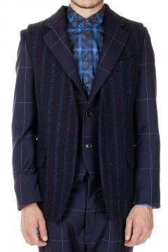 Wool Single Breasted Jacket