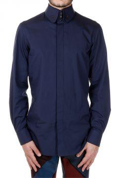 Camicia in Popeline Button-Down