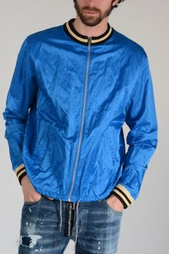 ANGLOMANIA Bomber Souvenir Shirt Jacket