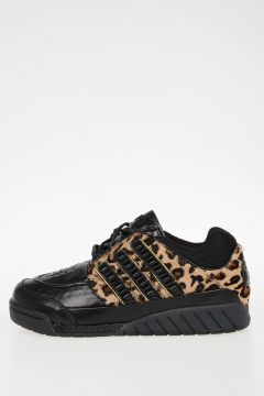 ADIDAS Leather Pony Skin Sneakers