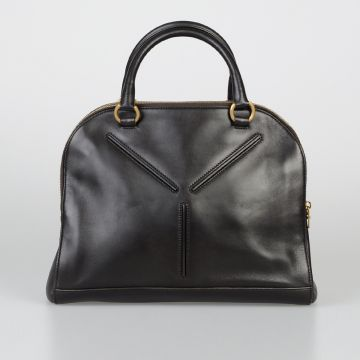 RIVE GAUCHE Leather Bowler Bag