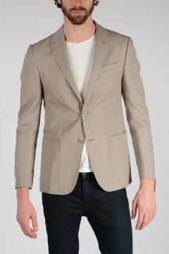 Z ZEGNA Wool Linen Blazer