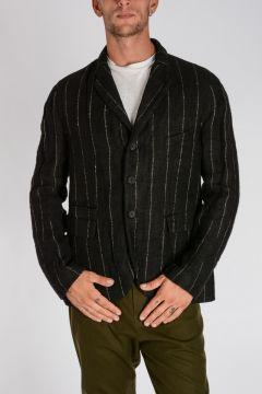 Pinstripe Linen Jacket