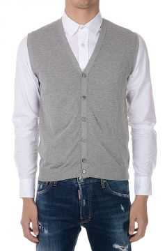 Cotton sleeveless Gilet