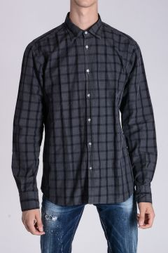 Checked Cotton M DAVID Shirt